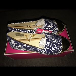 Lilly Pulitzer for target espadrilles 6.5 NWT